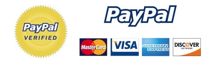Using Paypal is safe, easy and you don't need an account!
